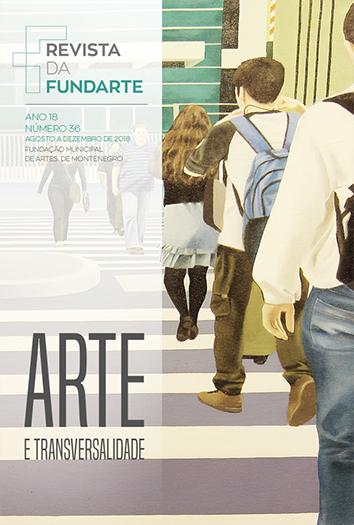 Capa do convite da exposição RUAS DE ESTAR, de Michele Martines